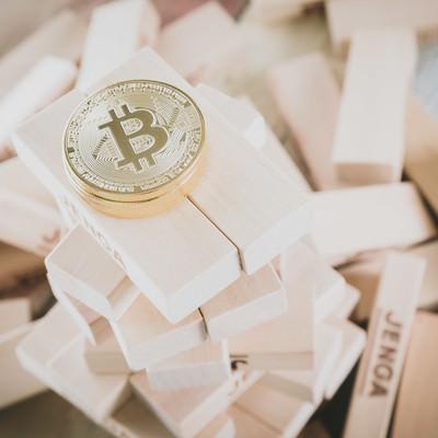 急上昇したビットコインの写真