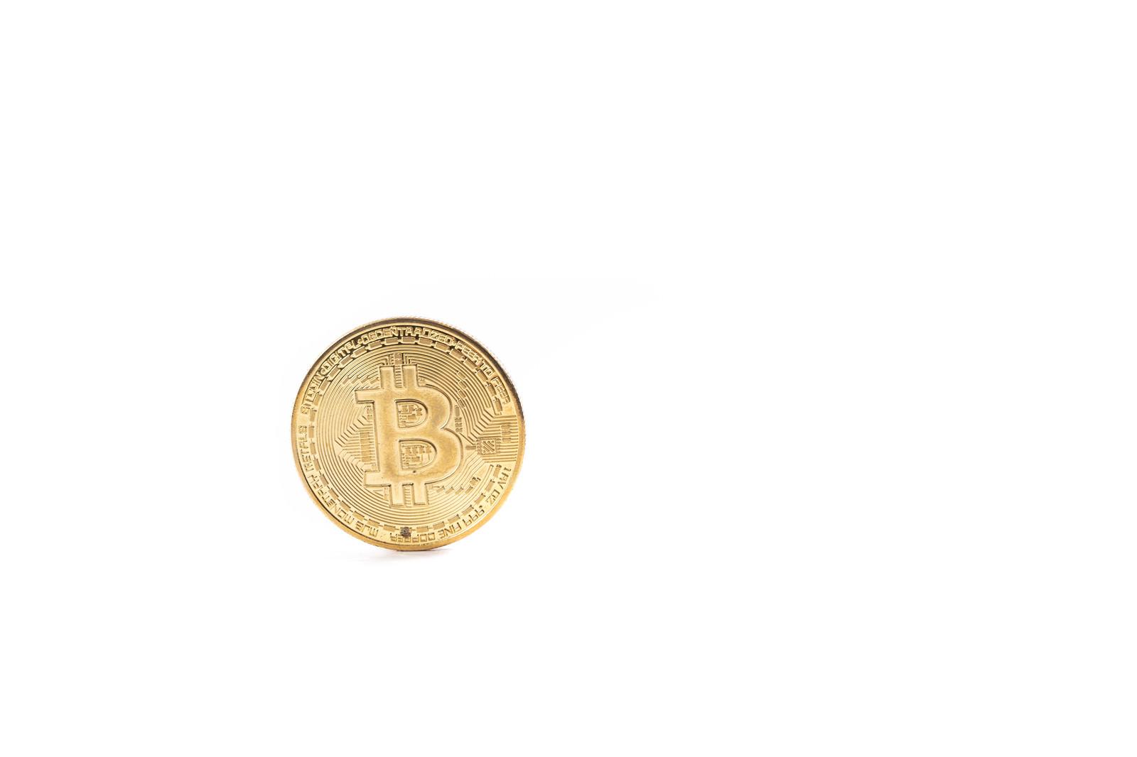 「ビットコイン建て」の写真