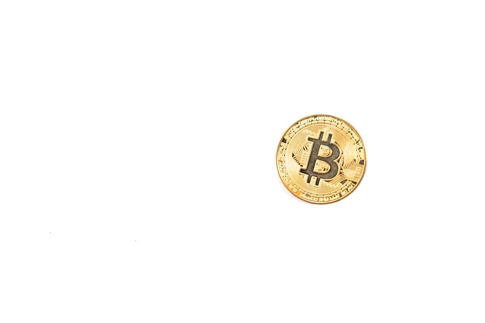 「ビットコイン1枚」の写真