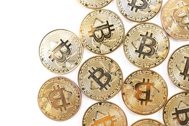 デジタルゴールド(ビットコイン)の写真