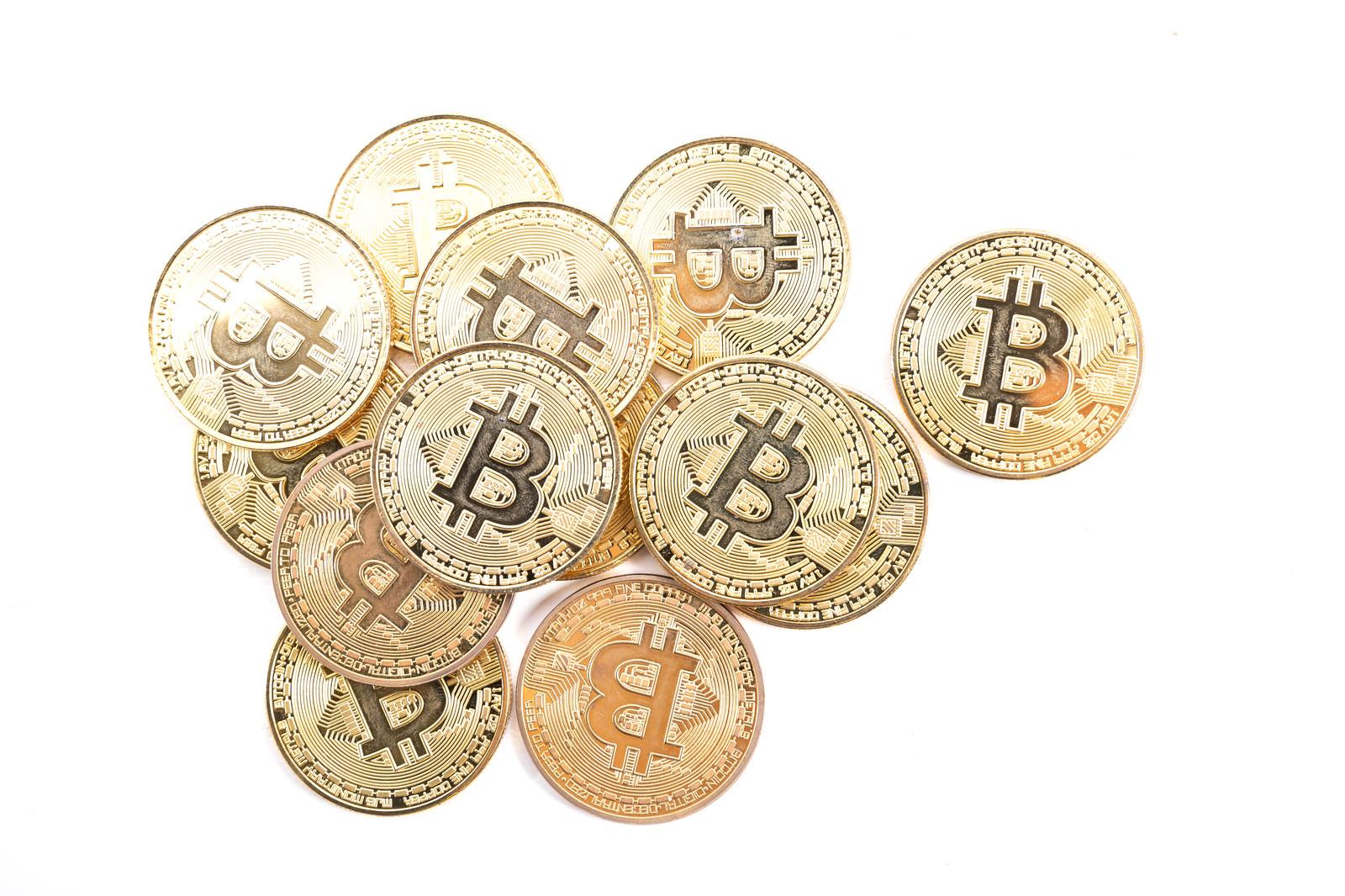 「デジタル・ゴールド ビットコイン」の写真