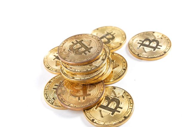 暗号資産(ビットコイン)の写真