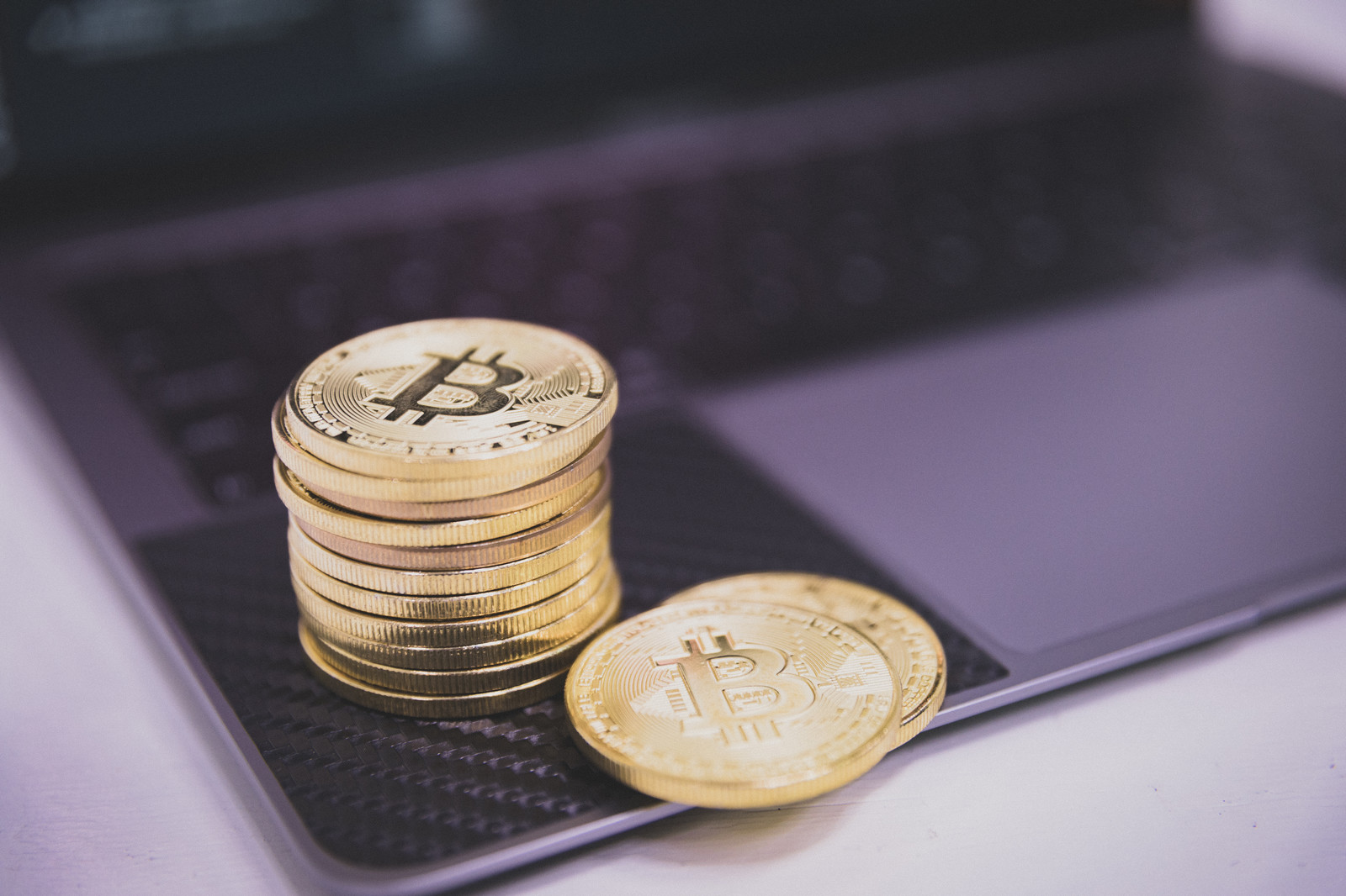 「ビットコイン(暗号資産)」の写真