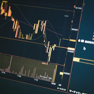 仮想通貨のチャートの写真