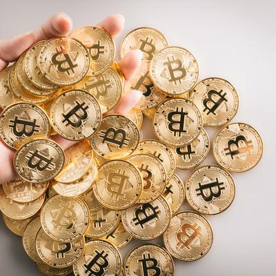 大量のビットコインをガチHODLの写真