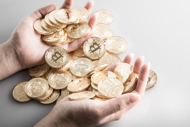 ビットコインを大量保有