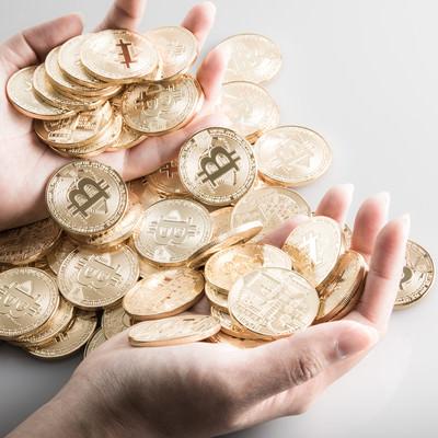 ビットコインを大量保有の写真
