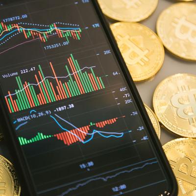 ビットコインの現物取引の写真