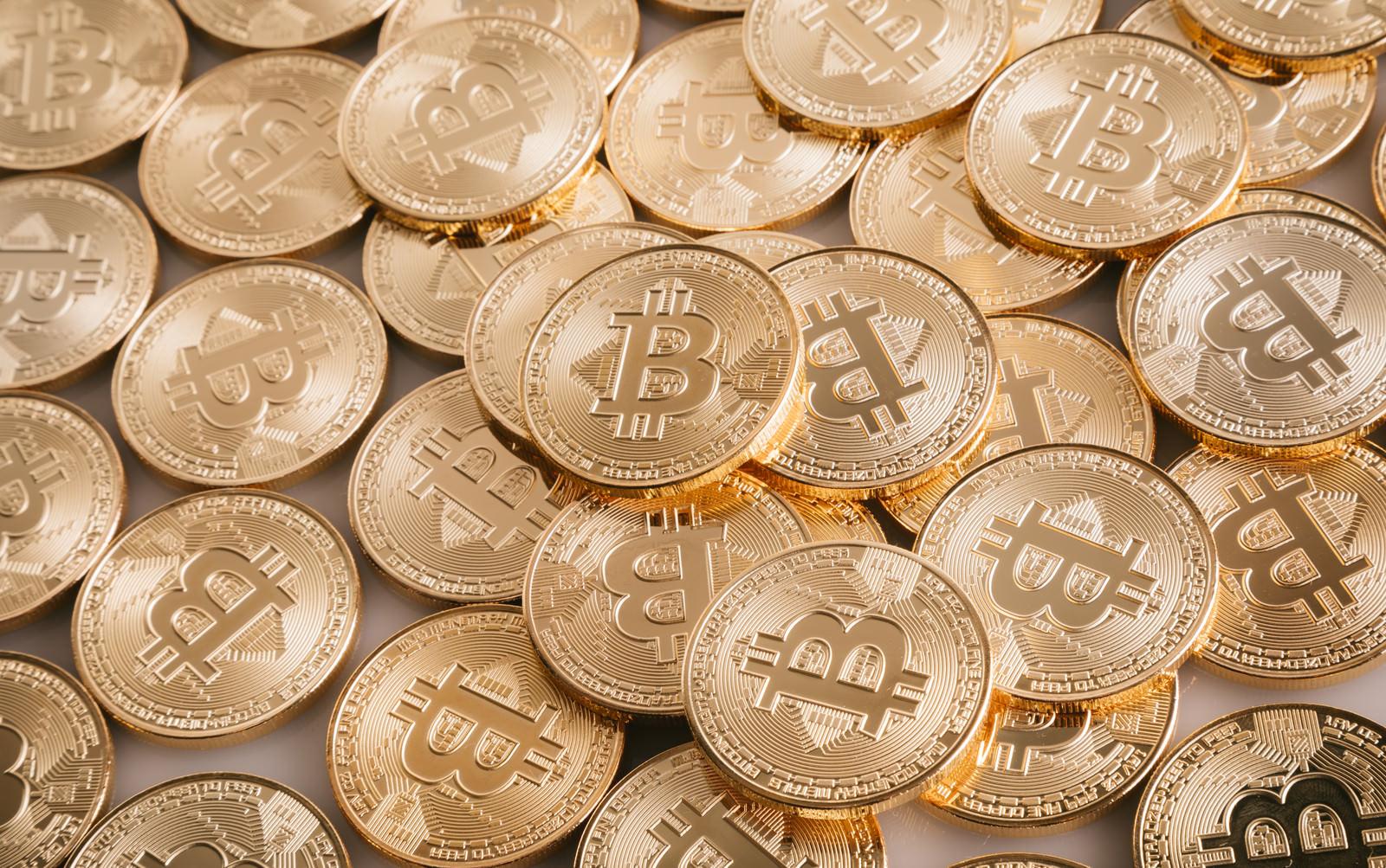 「暗号通貨(暗号資産)ビットコイン」の写真