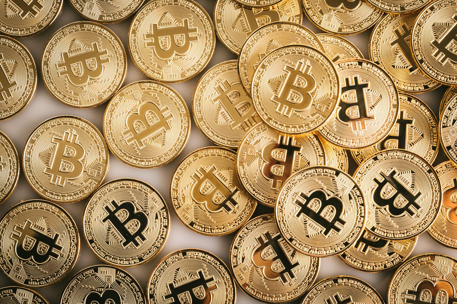 「ビットコイン(暗号資産)じゃぶじゃぶ」の写真