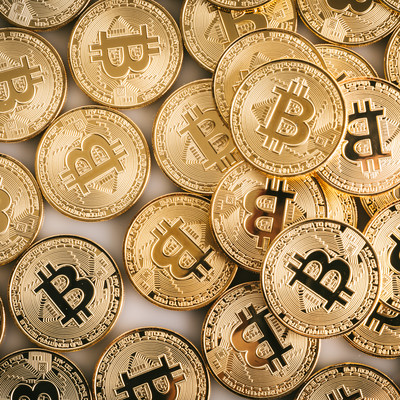 ビットコイン(暗号資産)じゃぶじゃぶの写真
