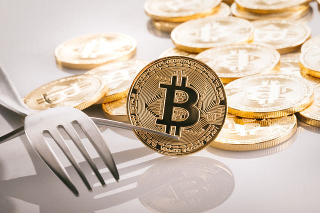 ビットコインのハードフォーク問題の写真