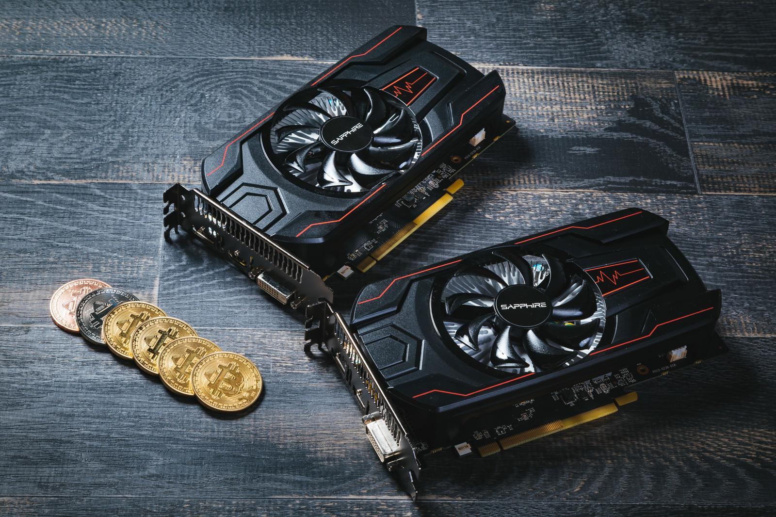 「低電力GPUでビットコインをマイニング」の写真