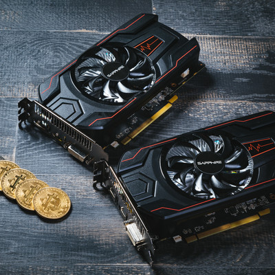 低電力GPUでビットコインをマイニングの写真