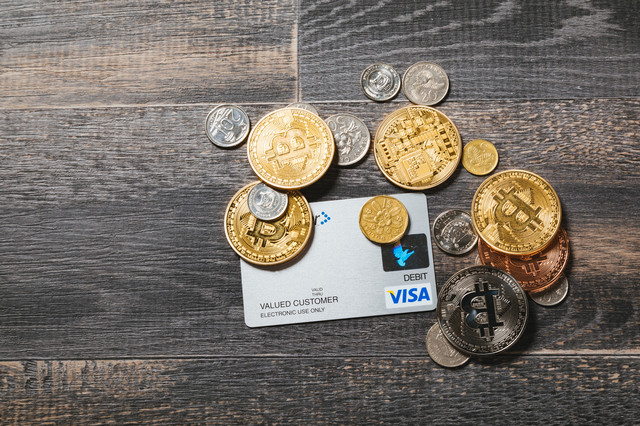 仮想通貨でシームレスな取引をの写真