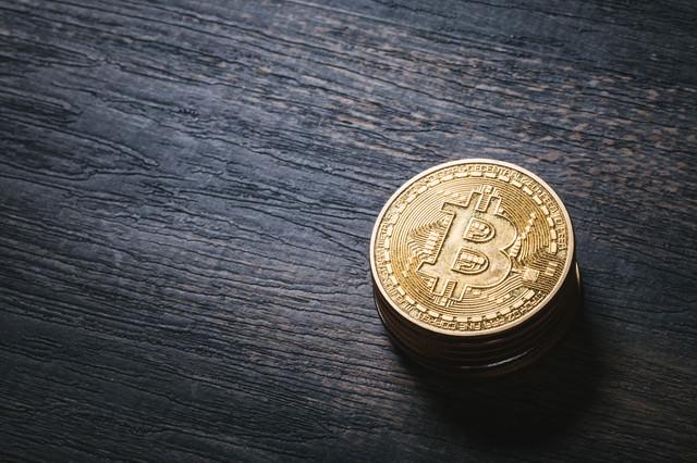 ビットコイン(暗号資産)の写真