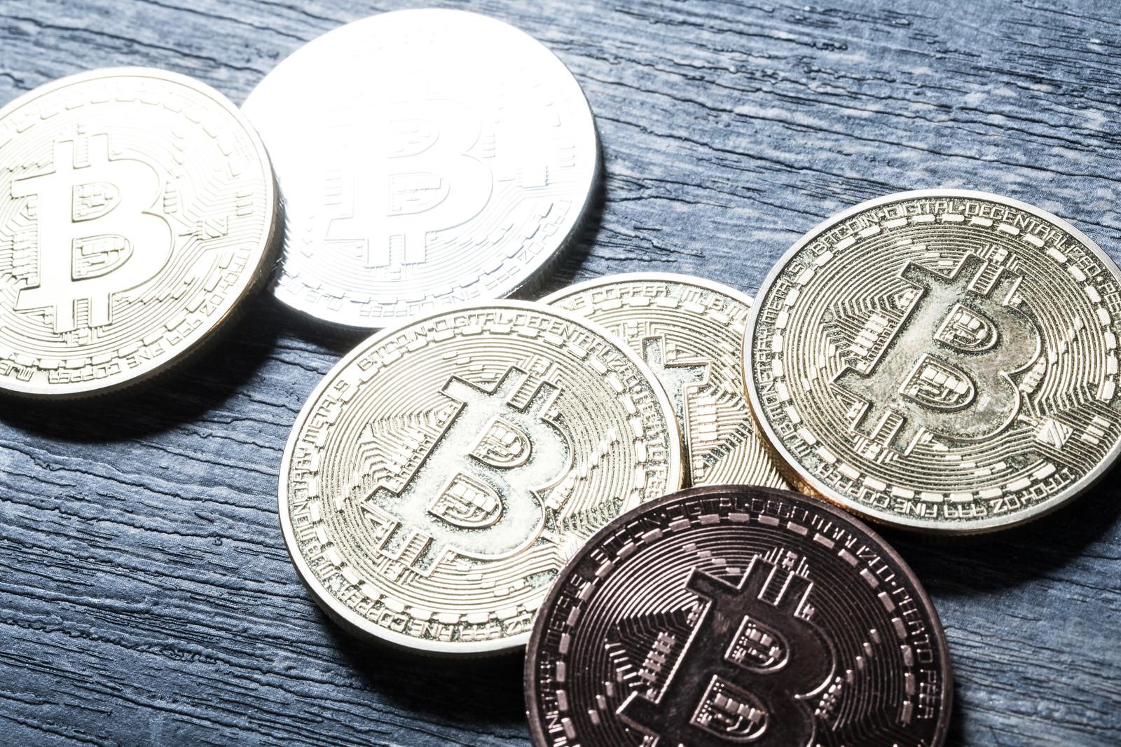 「仮想通貨(ビットコイン)仮想通貨(ビットコイン)」のフリー写真素材を拡大