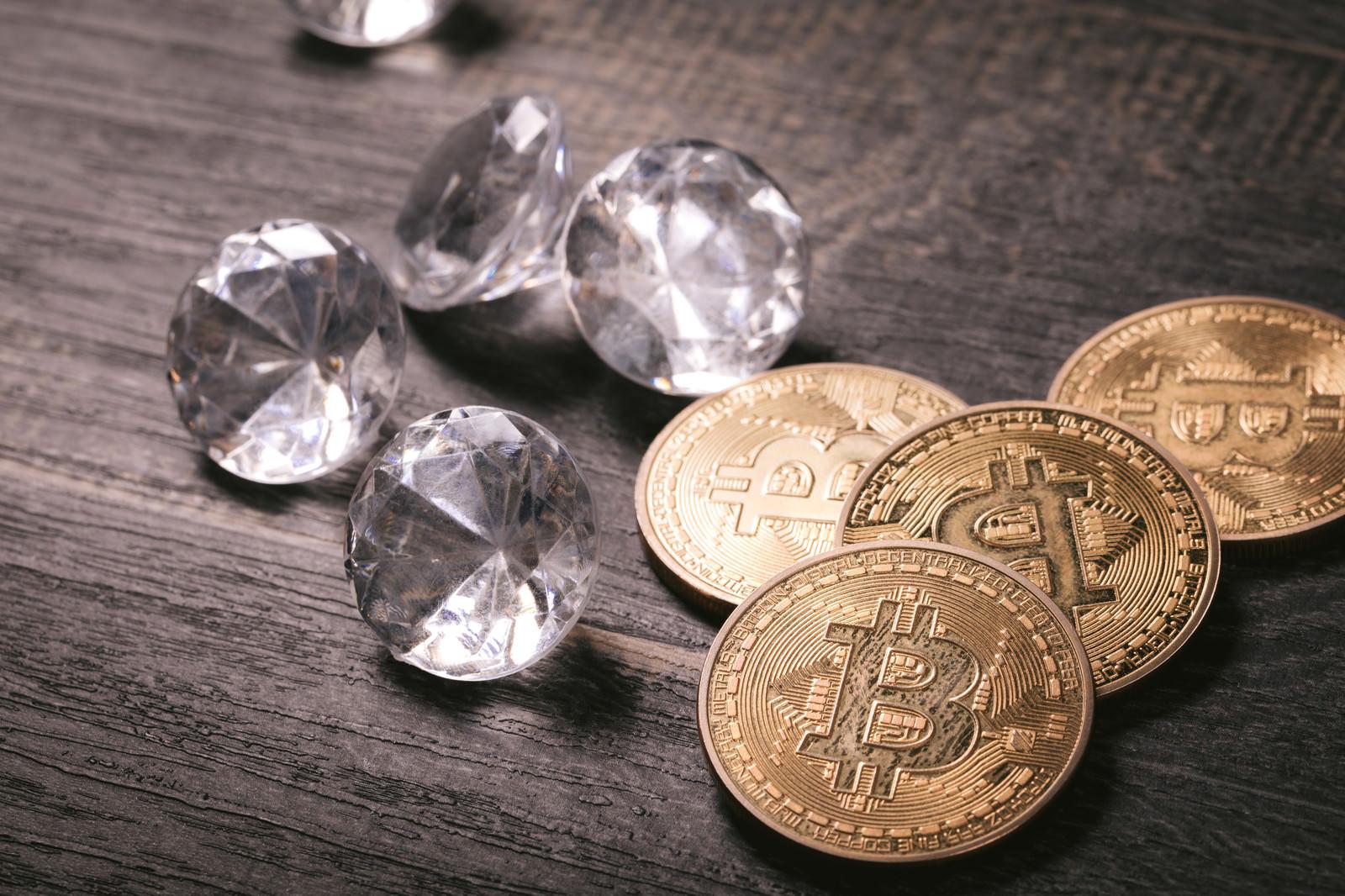 「ハードウォークで分裂したコイン」の写真
