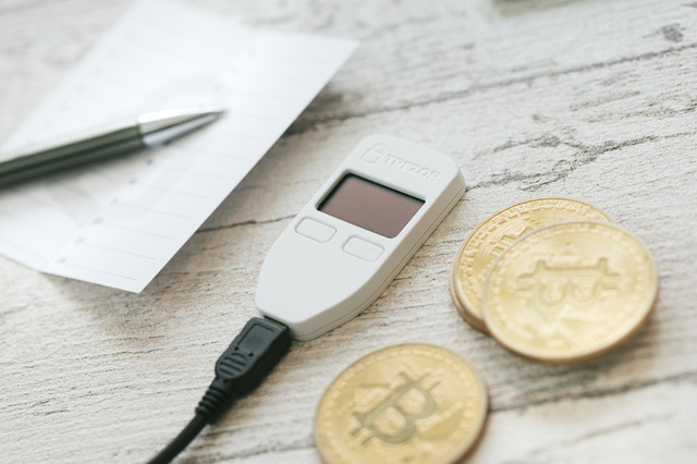 ビットコインを安全に管理するの写真