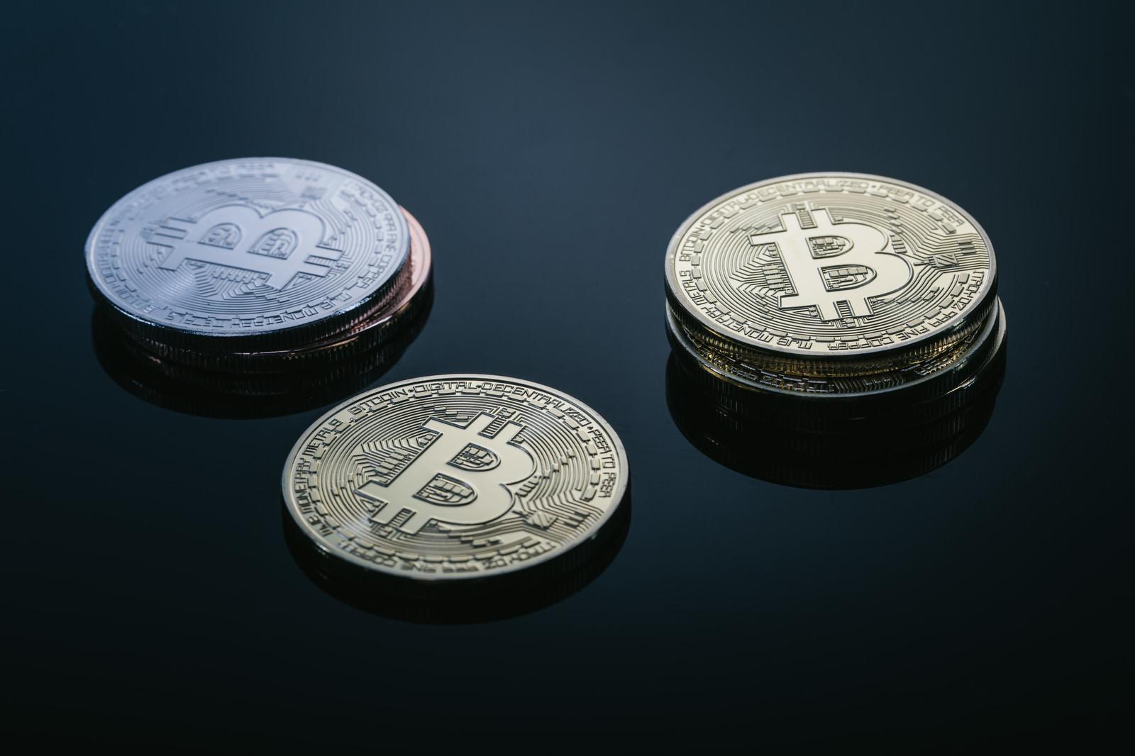 「高値更新を続けるBitcoin(ビットコイン)」の写真