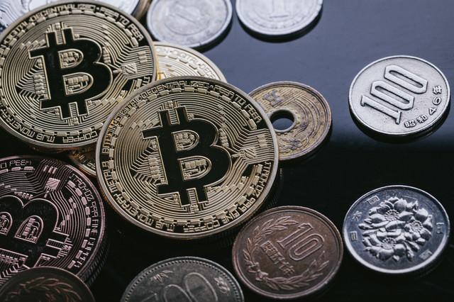 ビットコインと日本円の写真