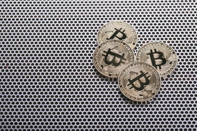 仮想通貨ビットコイン(Bitcoin)の写真
