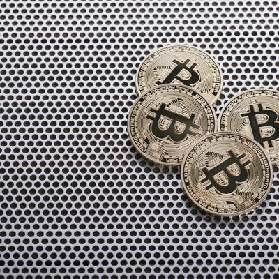 「仮想通貨ビットコイン(Bitcoin)」の写真素材