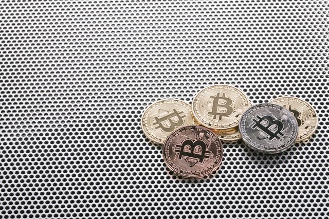 注目されるビットコイン市場の写真