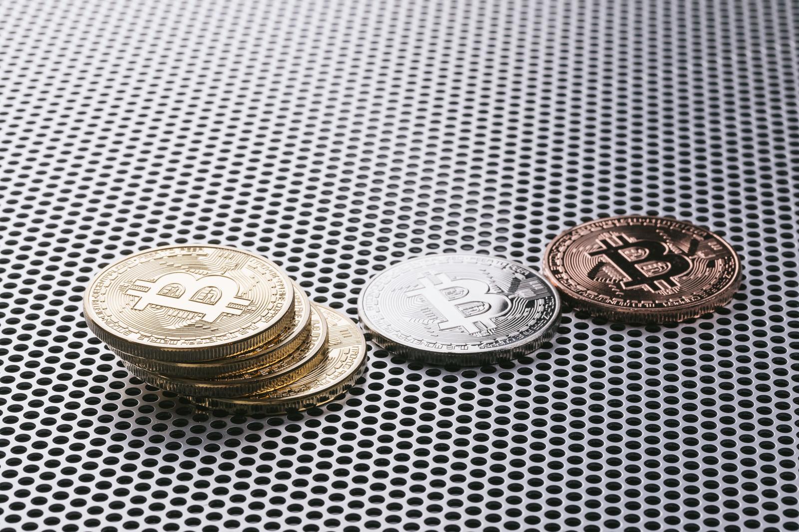 「ビットコインの世界ビットコインの世界」のフリー写真素材を拡大