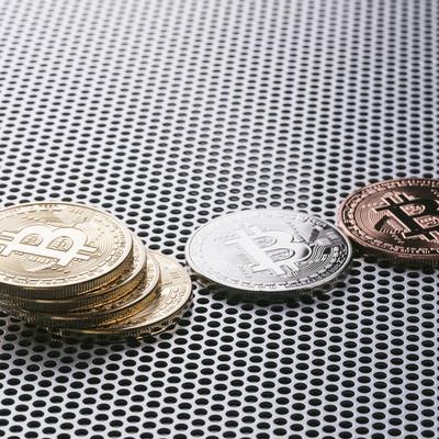「ビットコインの世界」の写真素材