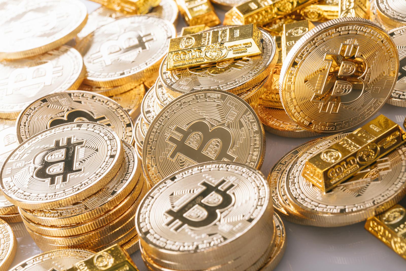 「ビットコインバブル」の写真