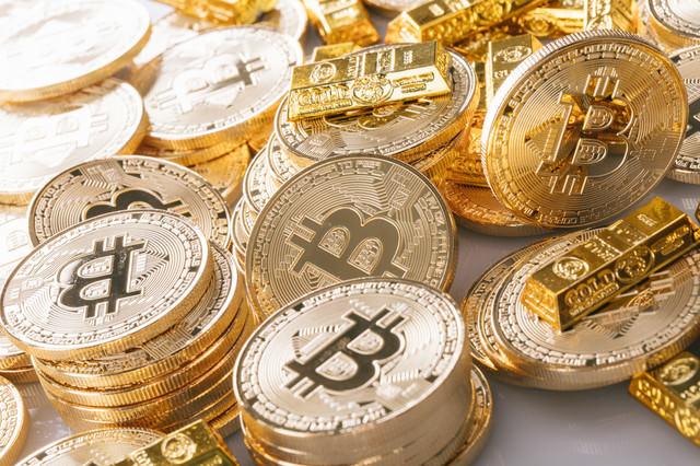 ビットコインバブルの写真