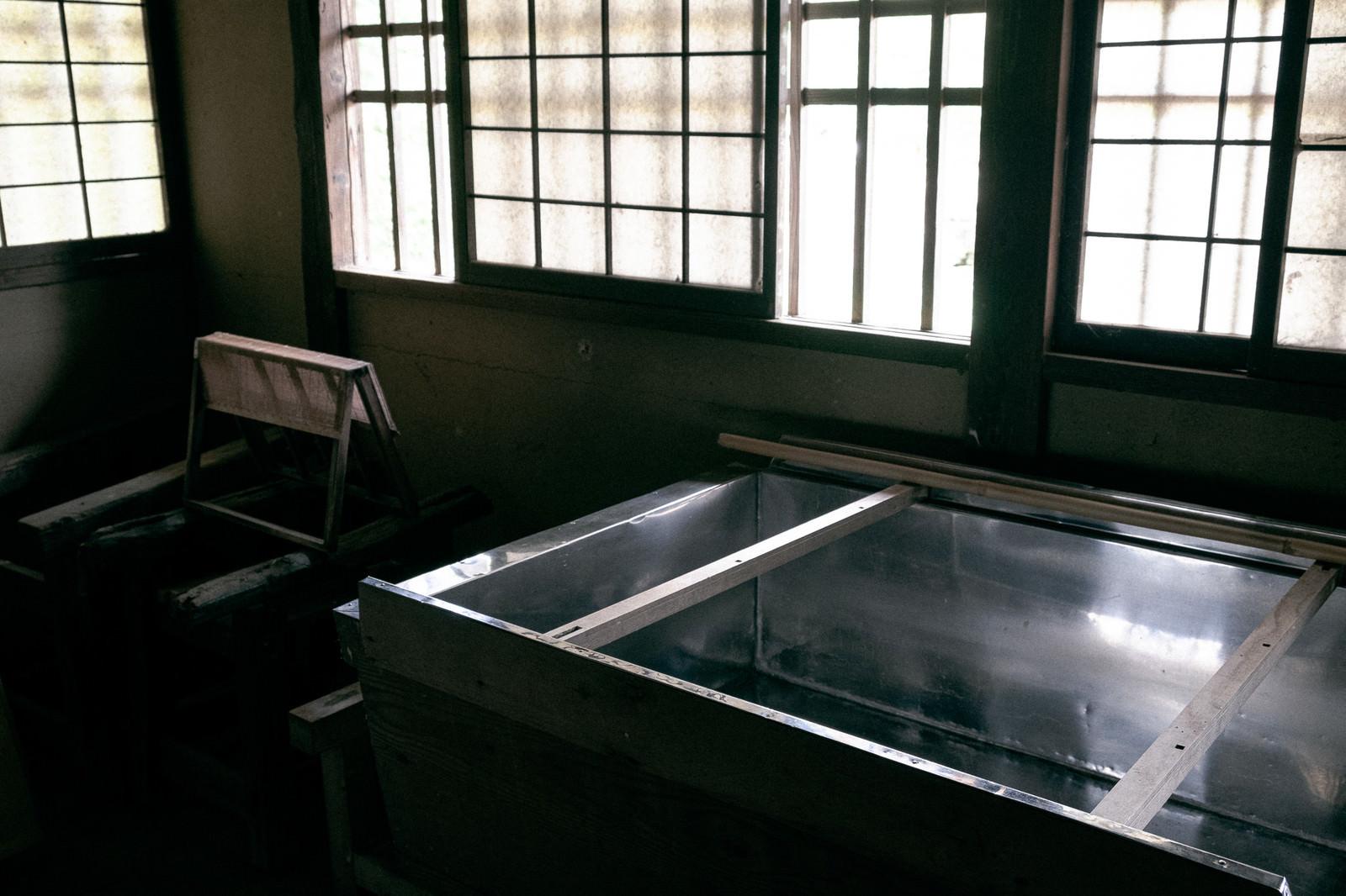 「古民家の和紙工房」の写真