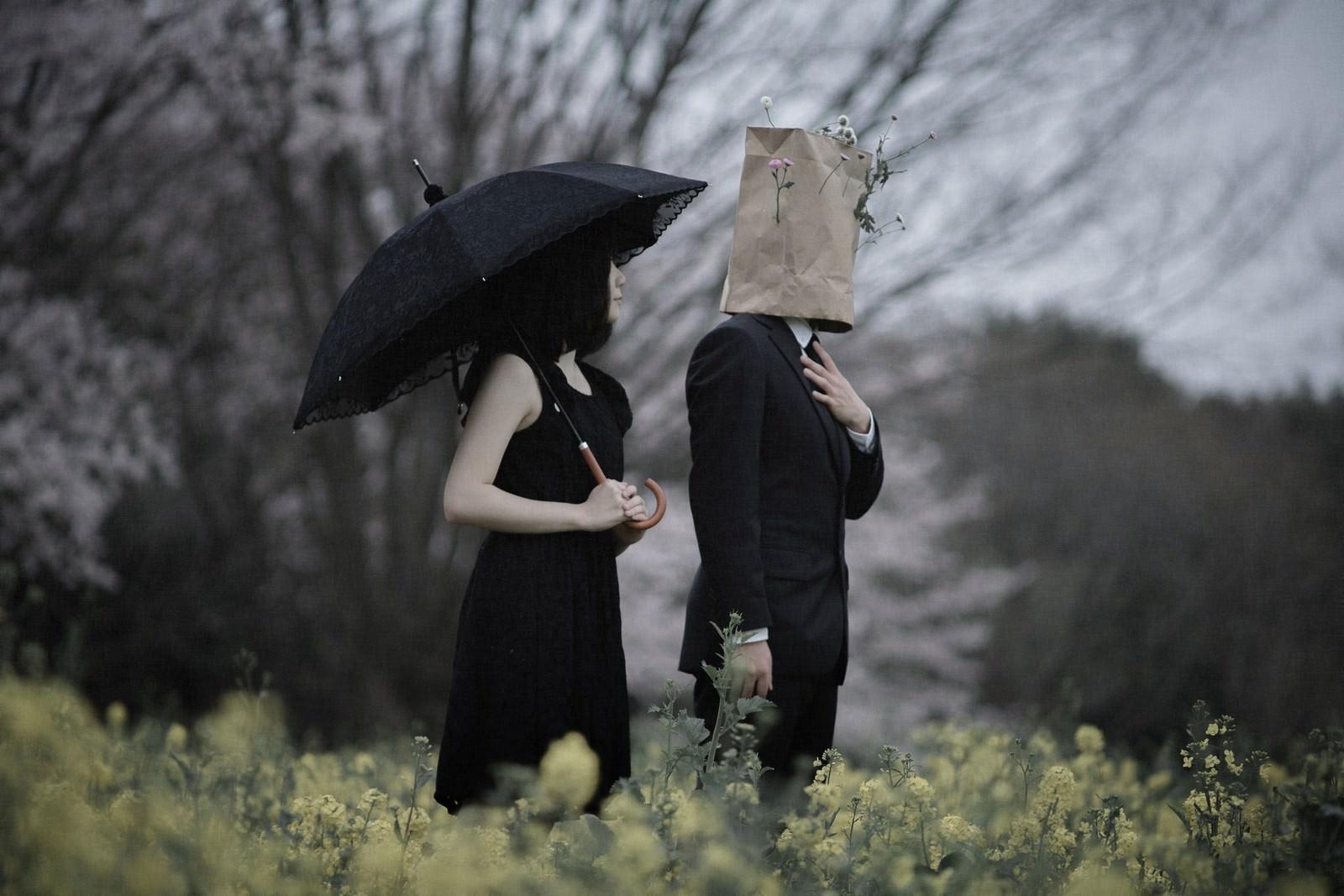 「同士を想うふたり」の写真