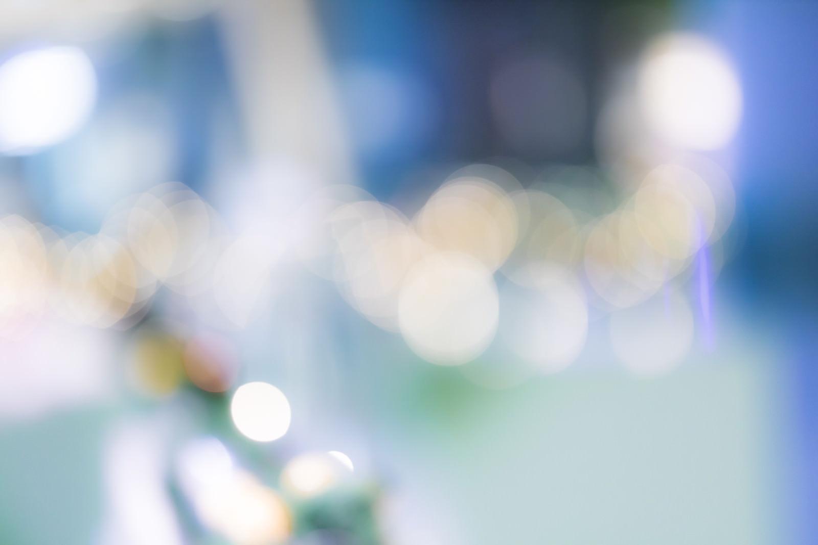 「電飾のボケ味」の写真
