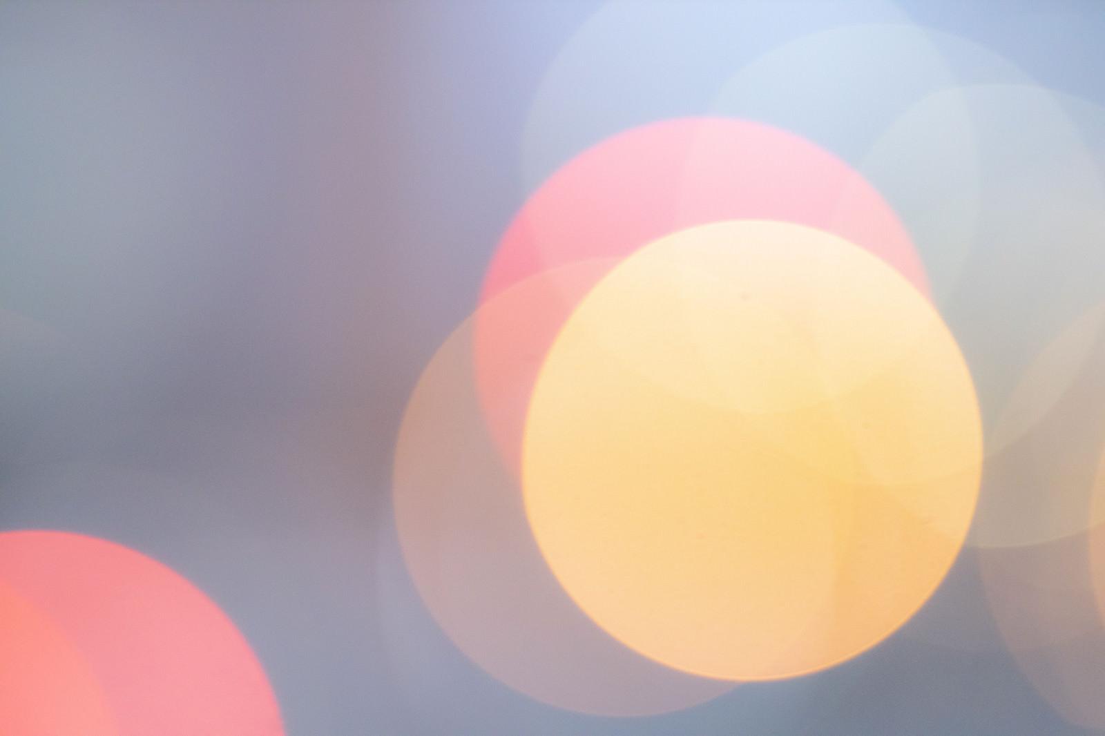 「丸ボケキラキラ」の写真