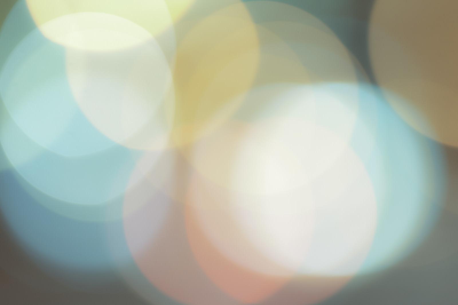 「ノスタルジックな丸ボケ」の写真