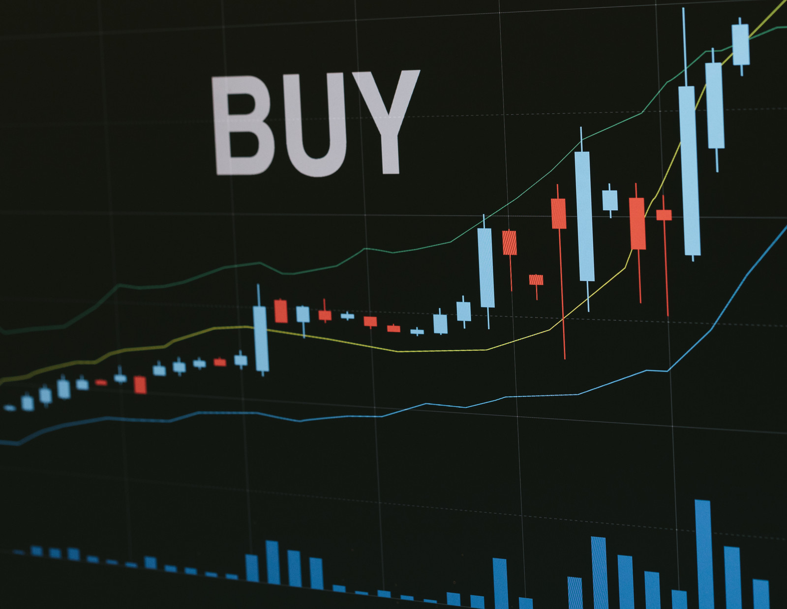 「買い時を知らせる自動売買買い時を知らせる自動売買」のフリー写真素材を拡大