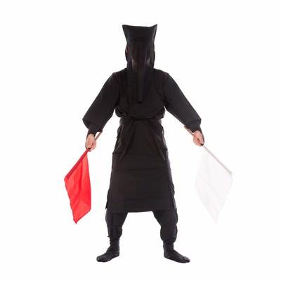 「黒子の手旗信号0」の写真素材