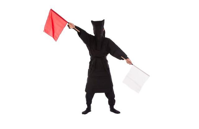 黒子の手旗信号4の写真