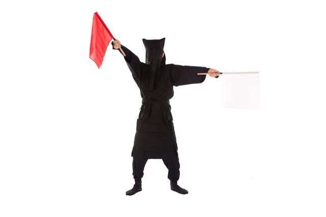 黒子の手旗信号7の写真