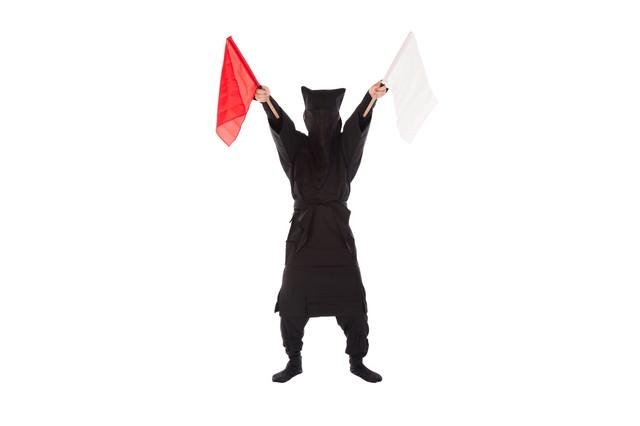 黒子の手旗信号12の写真