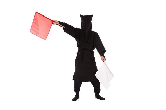 黒子の手旗信号14の写真