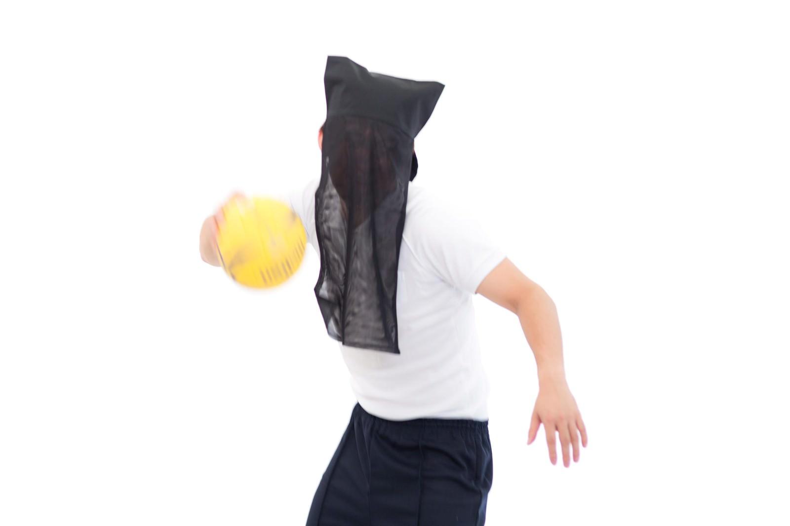「ゴールが見えないハンドボール部エース」の写真[モデル:鈴木秀]