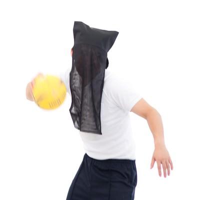 「ゴールが見えないハンドボール部エース」の写真素材