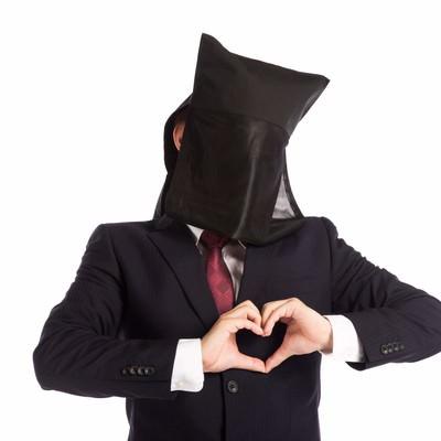 「ハートキャッチ黒子」の写真素材