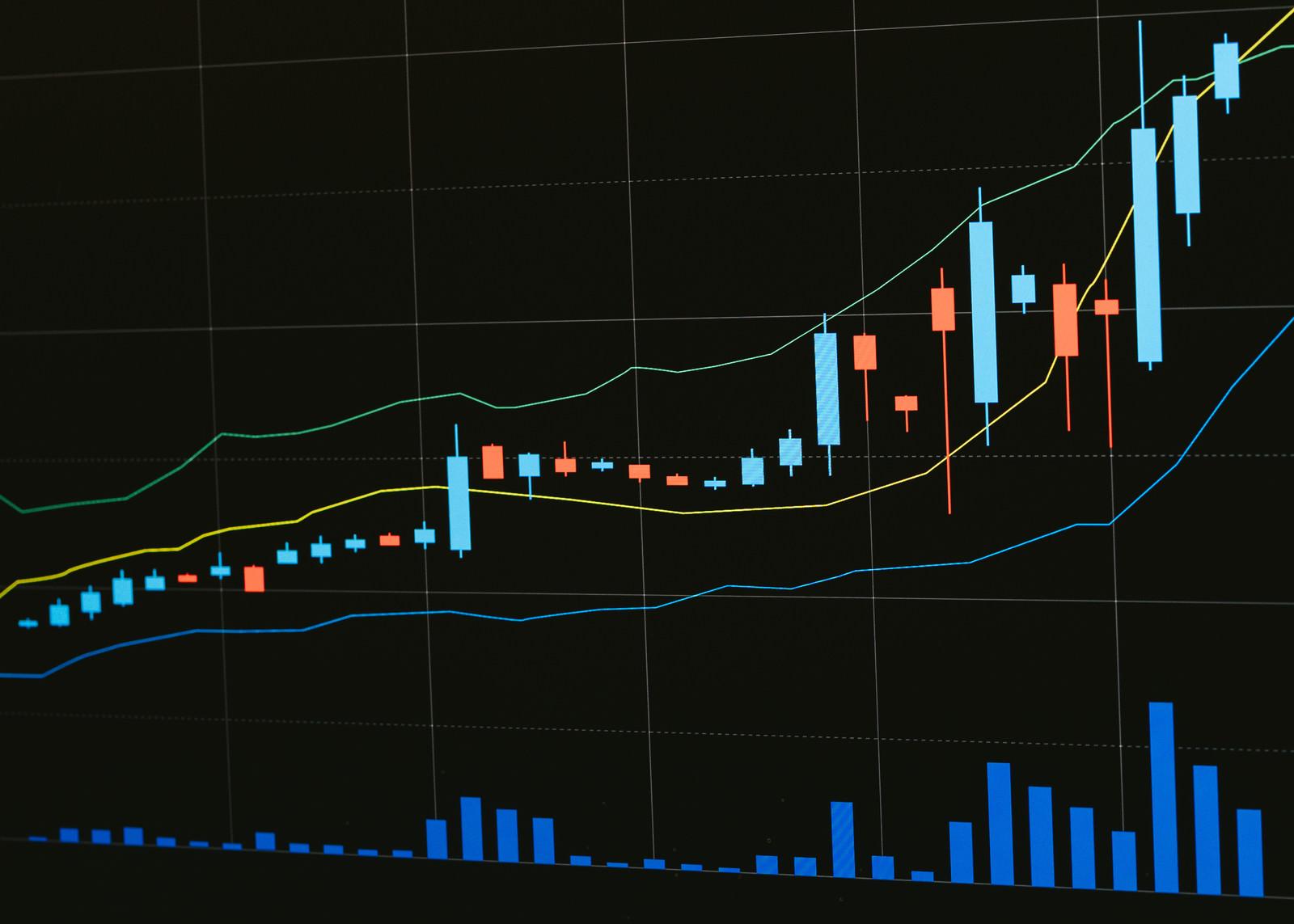 「値上がりし続けるバブル相場」の写真