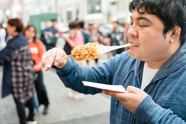チーズびろーん(チーズドッグ)の写真