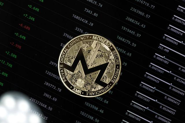 XMR(MONERO)コインの写真