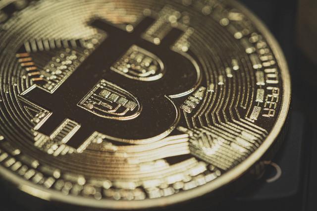 ビットコインの暗号資産の写真